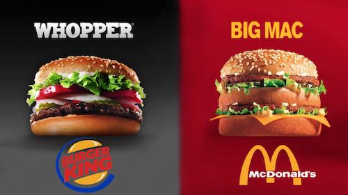 Burger King vs McDonalds – Impulso y Movimiento BTL